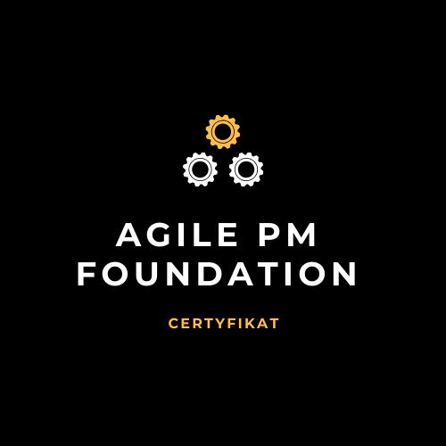 Agile PM Foundation - Certyfikat